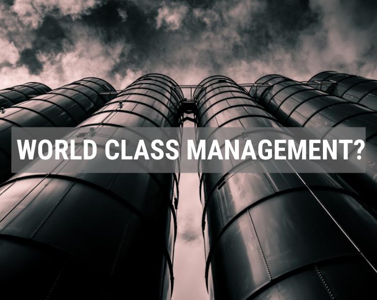 WORLD CLASS MANAGEMENT - SẢ XUẤT CHUẨN THẾ GIỚI